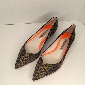 Sophia Webster love 3D animal print flats
